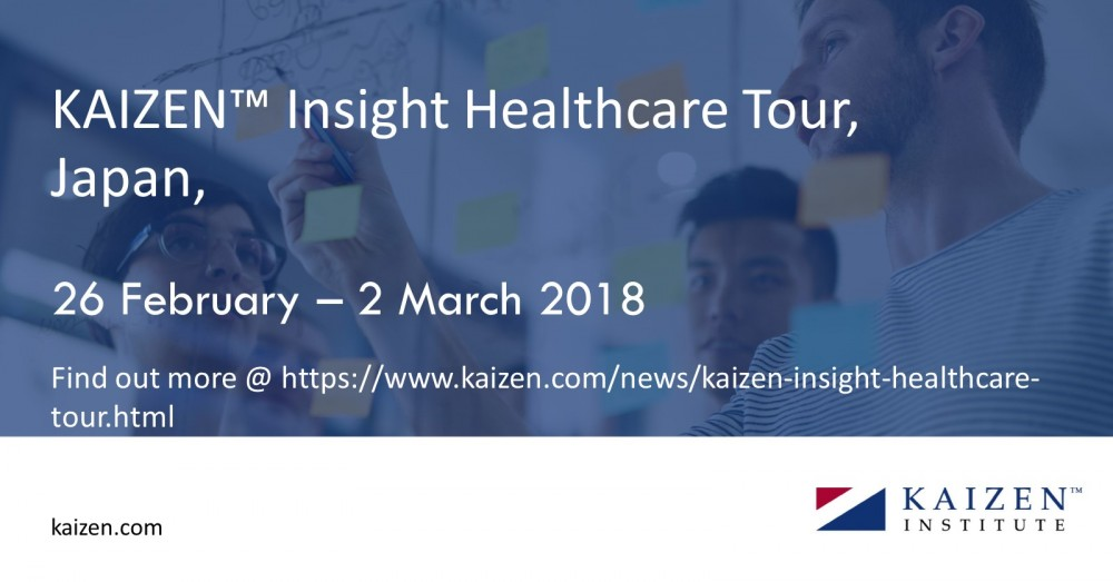 Kaizen Institute Insight Healthcare Tour banner